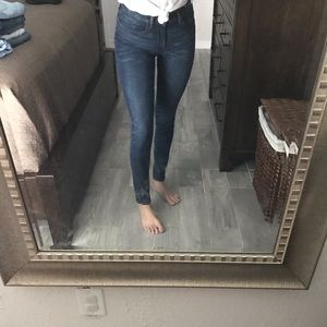 Levi's high waisted skinny jeans